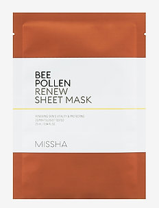 Missha Bee Pollen Renew Sheet Mask - sheet mask - clear