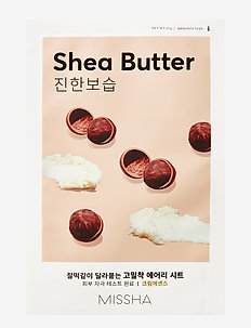 MISSHA Airy Fit Sheet Mask (Shea Butter) - sheet mask - clear