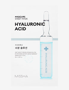 Missha Mascure Hydra Solution Sheet Mask - sheet mask - clear
