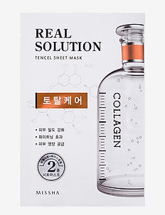 Missha Real Solution Tencel Sheet Mask (Total Care) - CLEAR