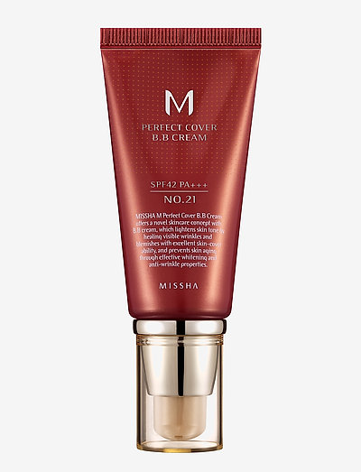 Missha M Perfect Cover Bb Cream Spf42/Pa+++ (No.21) - bb & cc-voiteet - no.21/light beige