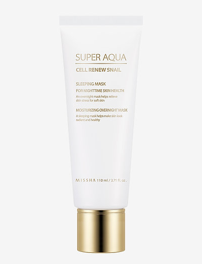 Missha Super Aqua Cell Renew Snail Sleeping Mask - CLEAR