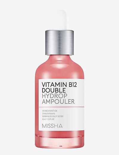 Missha Vitamin B12 Double Hydrop Ampouler - skintonic & toner - clear