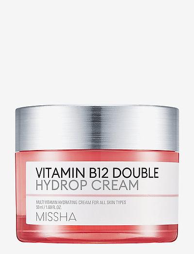 Missha Vitamin B12 Double Hydrop Cream - dagcreme - clear