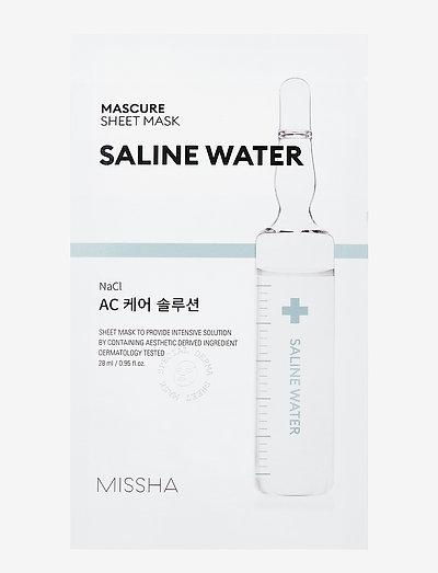 Missha Mascure AC Care Solution Sheet Mask - sheet mask - clear