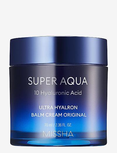 MISSHA Super Aqua Ultra Hyalron Balm Cream Original - dagcreme - clear