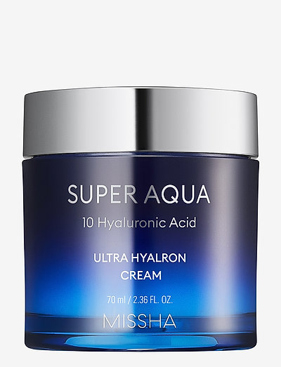 MISSHA Super Aqua Ultra Hyalron Cream - dagkrem - clear