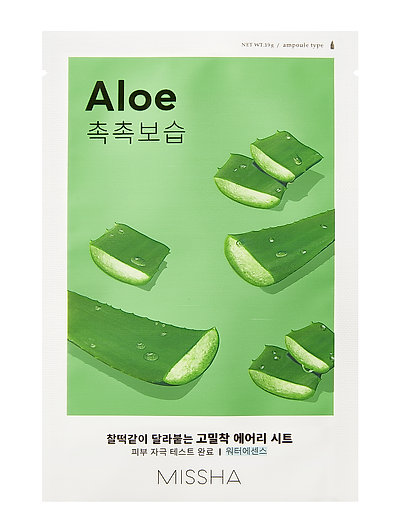 MISSHA Airy Fit Sheet Mask (Aloe) - CLEAR