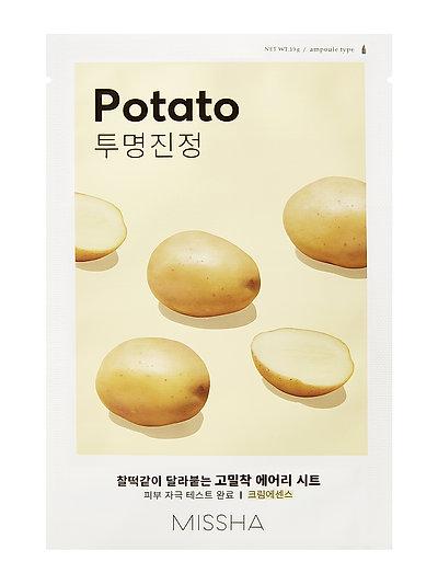 MISSHA Airy Fit Sheet Mask (Potato) - CLEAR