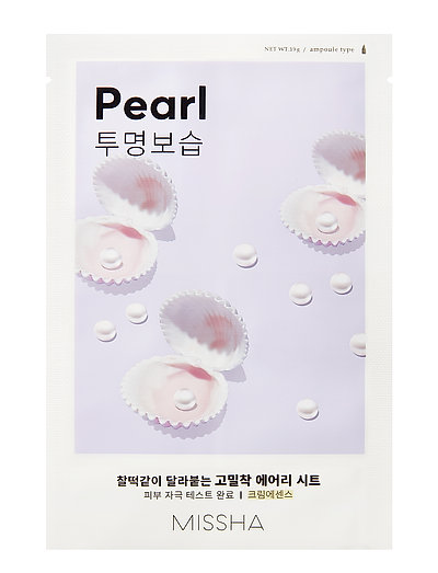 MISSHA Airy Fit Sheet Mask (Pearl) - CLEAR