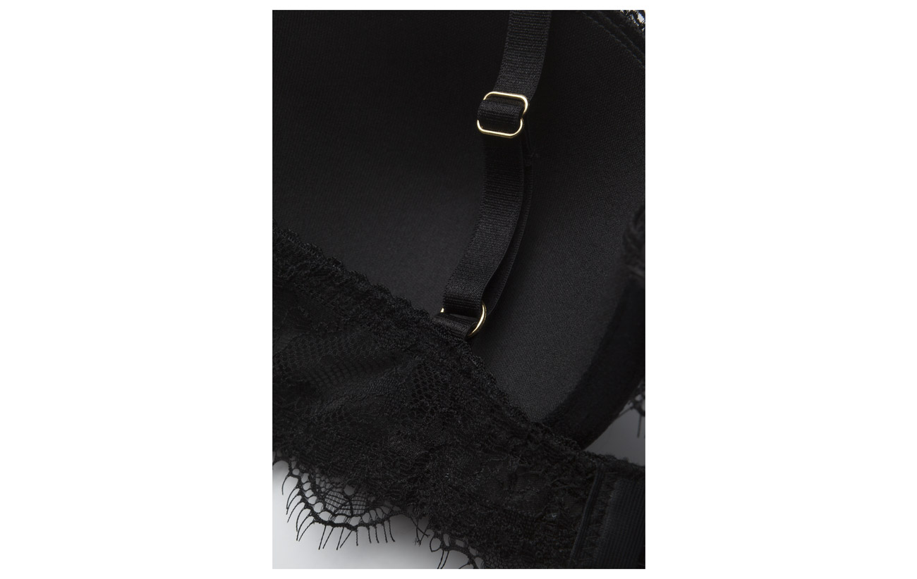 90 Fill Lace Elastane Polyamide Black Missya Bra 10 Noir nqX8zat