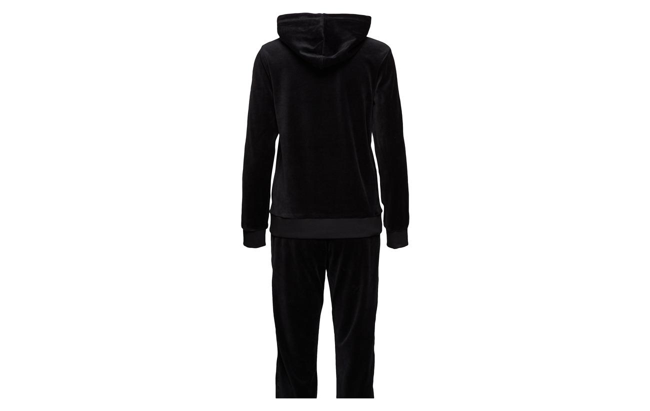 80 Missya Velvet Polyester Softness Homewear 20 Coton Black pIZcRIrwq