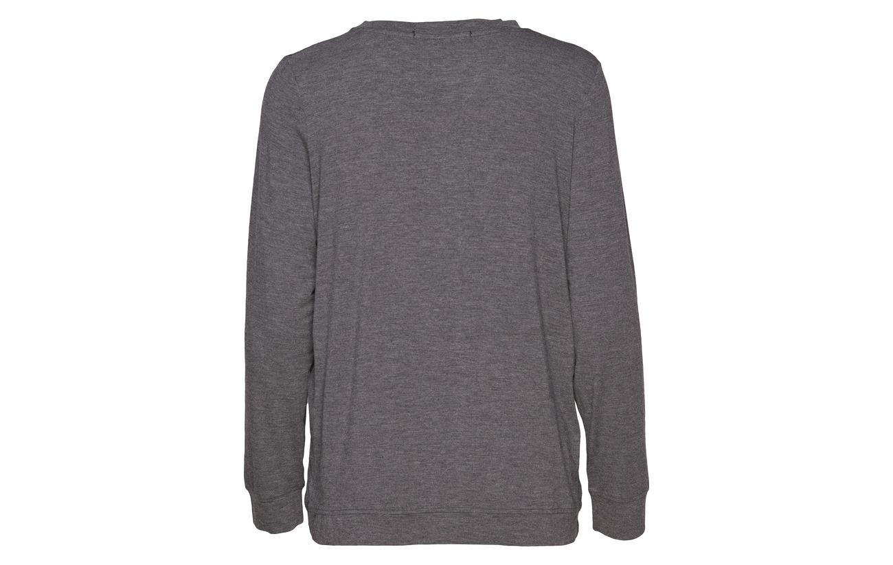 Dark Grey Modale 5 Melange Elastane Missya Shirt Softness 95 qZCEwn1px