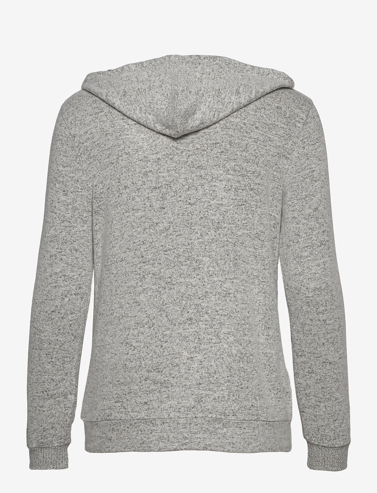Missya - Cozy hoodie - hauts - light grey melange w tape - 1