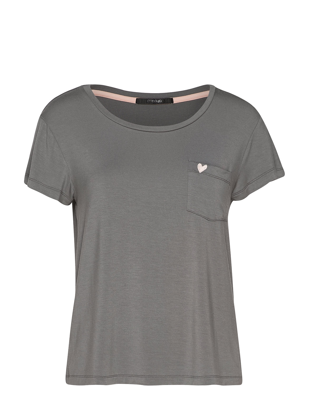 Missya Softness t-shirt - STEEL GREY