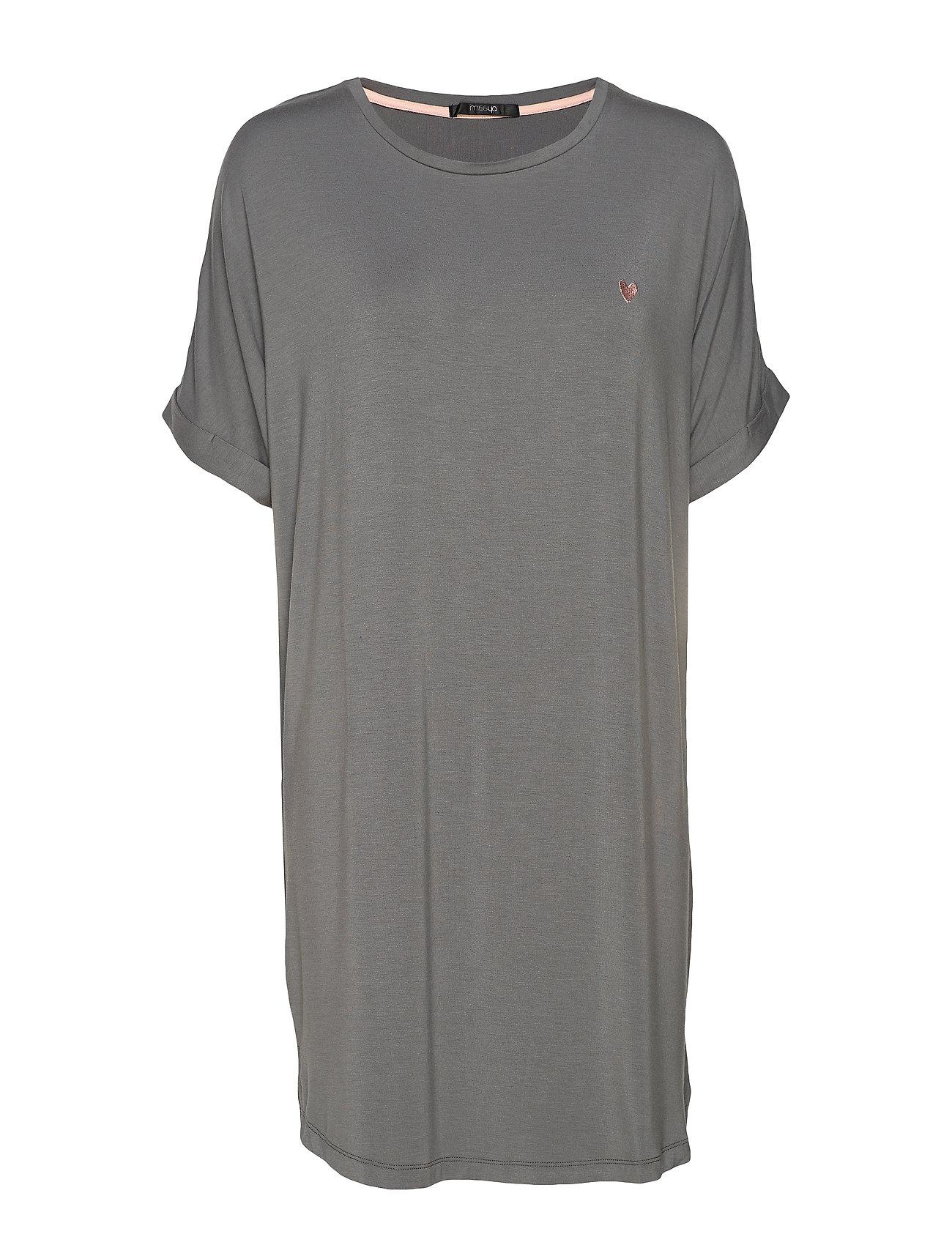 Missya Softness big shirt - STEEL GREY
