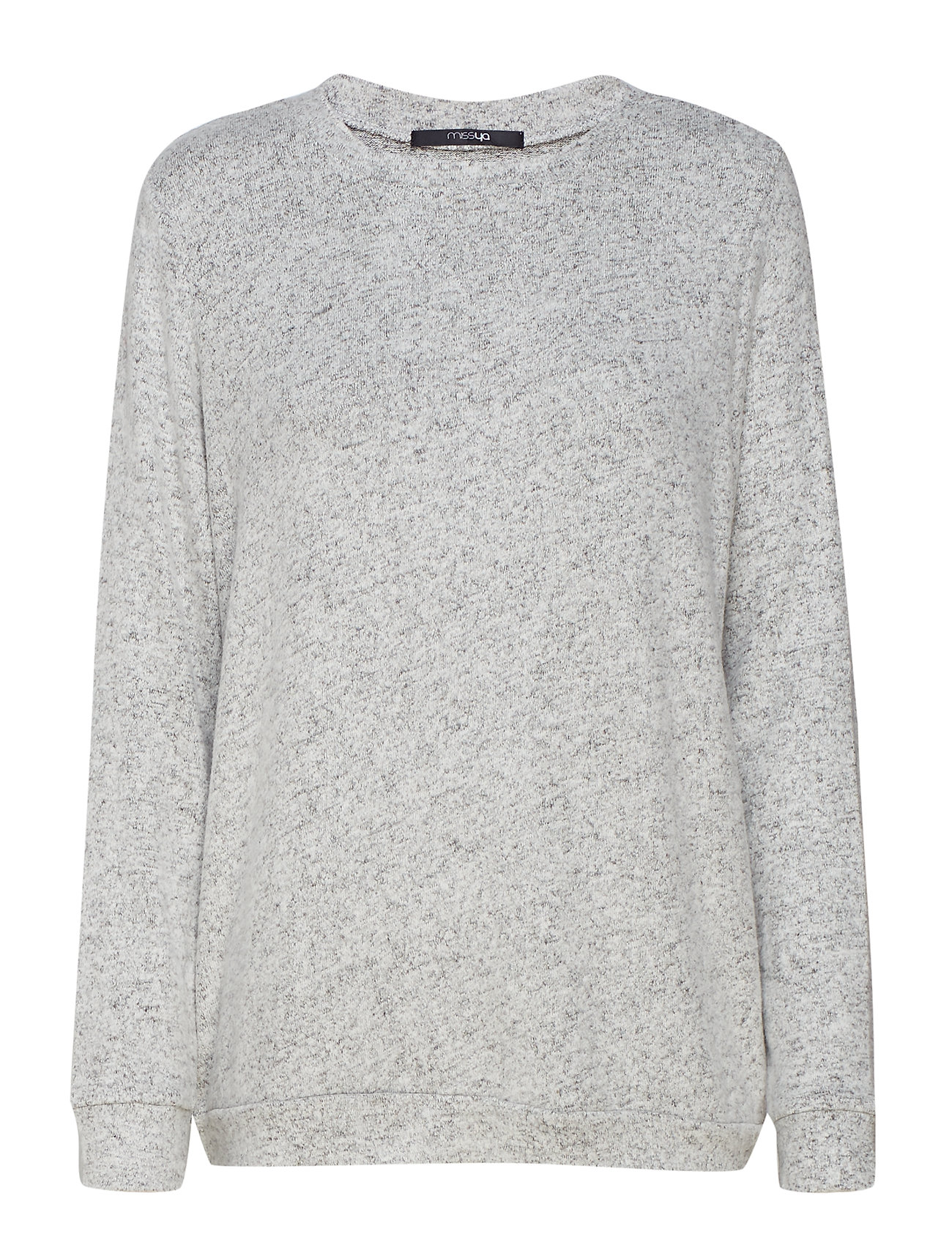 Missya Cozy shirt LS - LIGHT GREY MELANGE