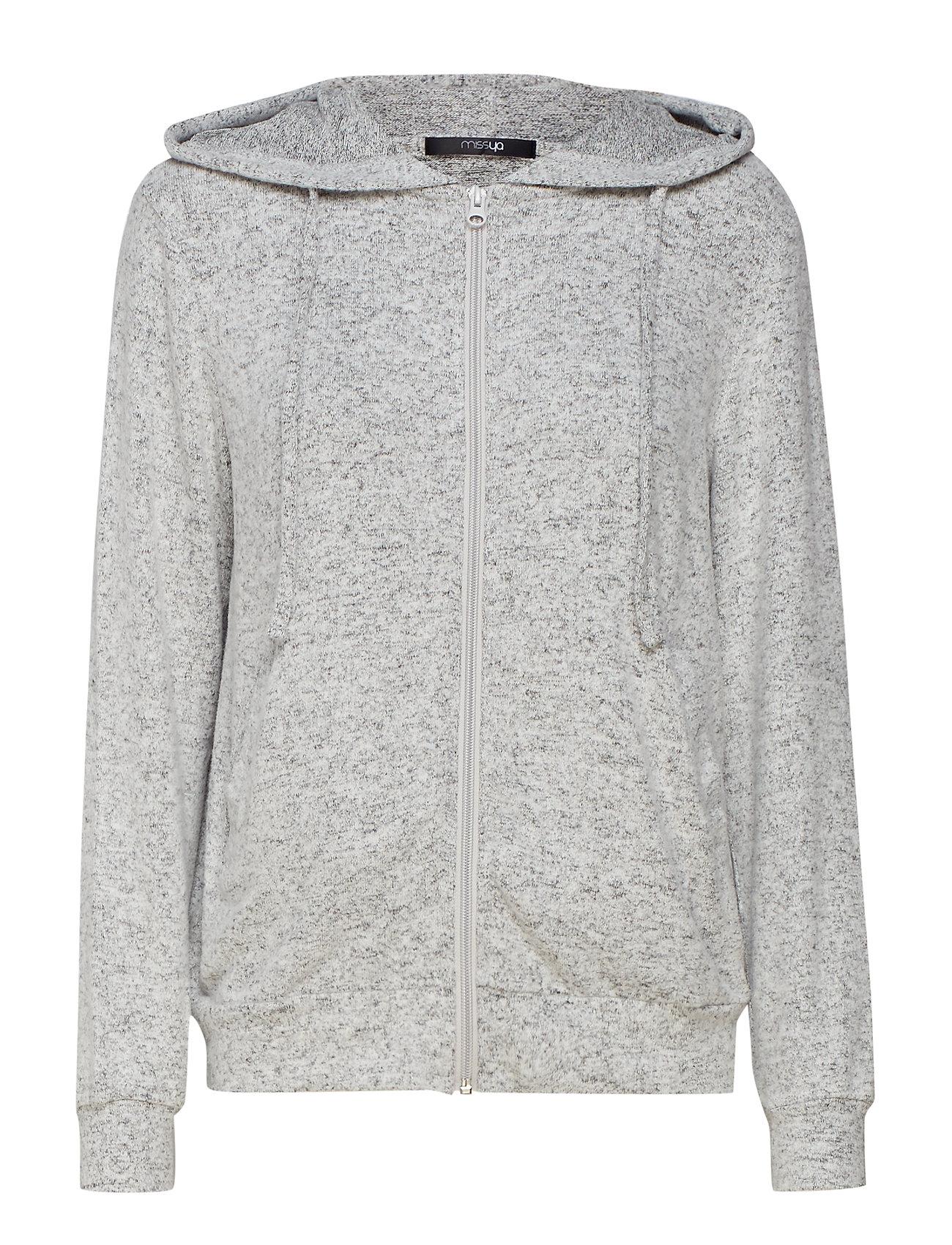 Missya Cozy hoodie - LIGHT GREY MELANGE