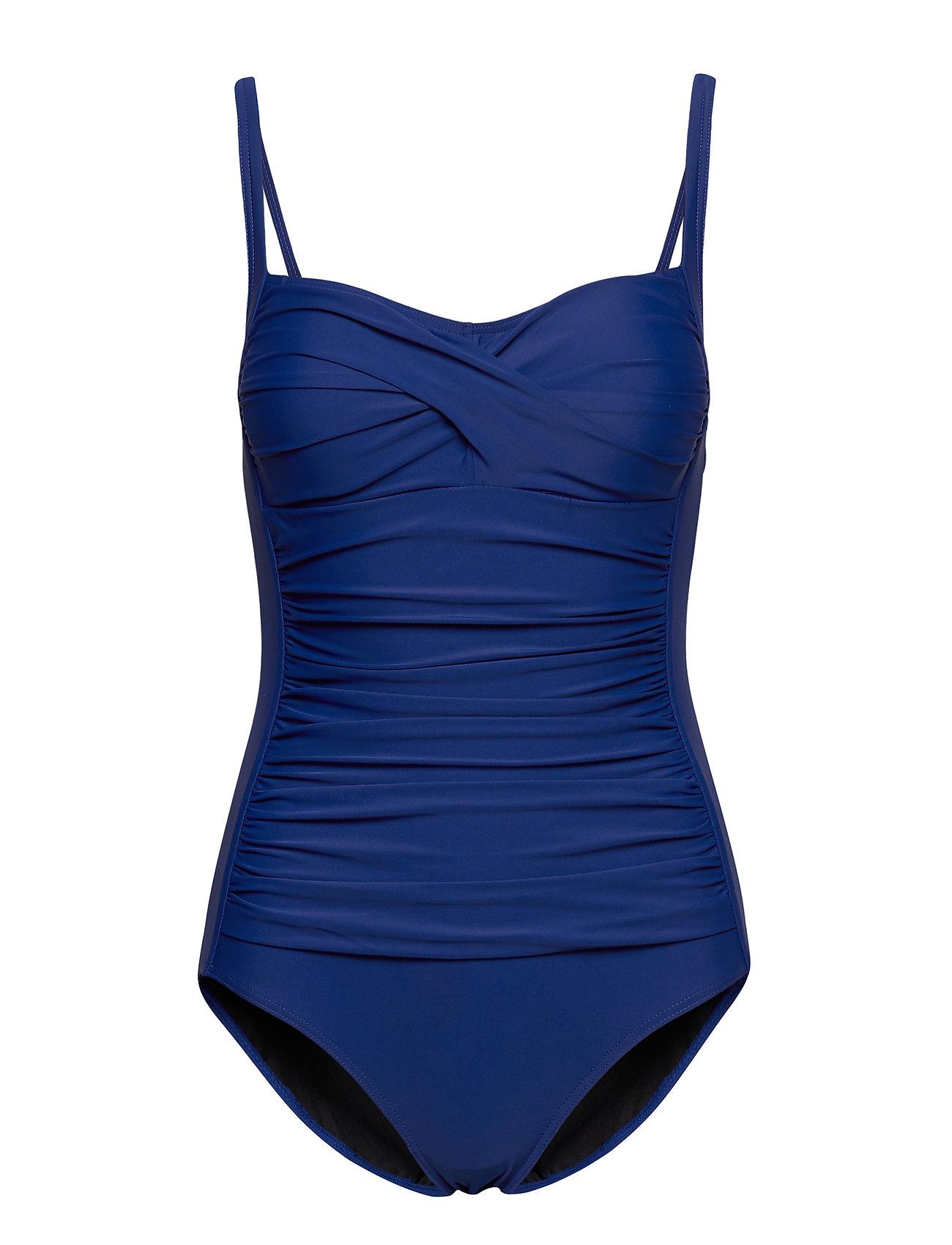 Image of Argentina Swimsuit Badedragt Badetøj Blå Missya (3511023423)