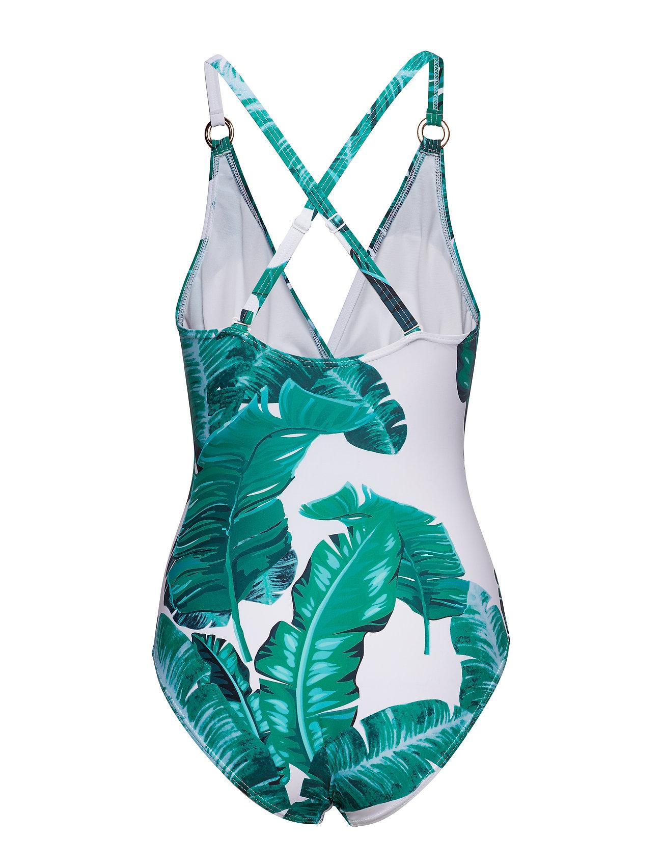 Missya    Lucca swimsuit  - Bademode    PALM PRINT
