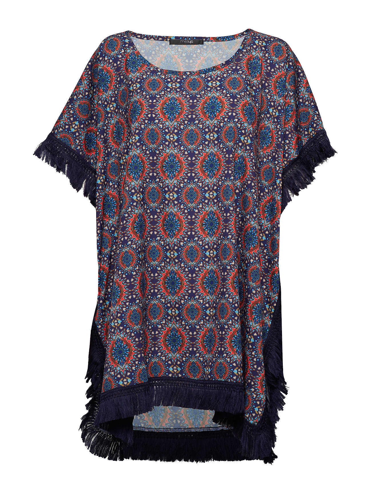 Missya Goa poncho - INDIAN PRINT