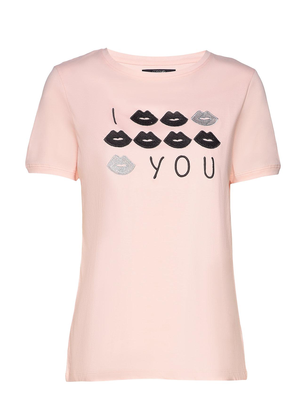 Missya Kiss t-shirt - ROSE
