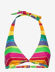 Missya - Monte Carlo bando fill - hauts de 2 pièces  - pink/yellow/gold stripes - 0