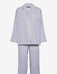 Missya - Parker pyjamas - pyjama''s - blue/ivory stripes - 0
