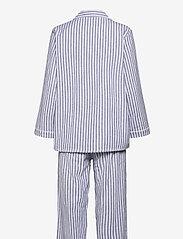 Missya - Parker pyjamas - pyjama''s - blue/ivory stripes - 1