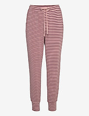 Missya - Softness pant - pantalons casual - rose taupe - 0