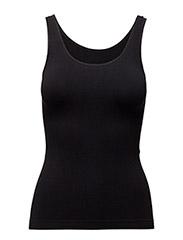 Lucia top wide strap - BLACK