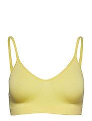 Missya Lucia bra top solid - LEMONADE