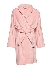 Cornflocker fleece robe short - ROSE