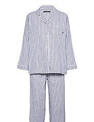 Parker pyjamas - BLUE/IVORY STRIPES