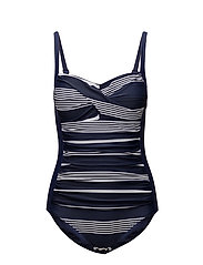 Abigail swimsuit - BLUE/WHITE STRIPES