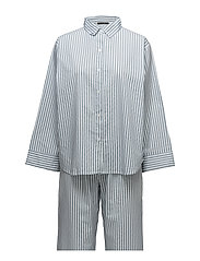 Venya pyjamas w. pants - BLUE/WHITE STRIPES