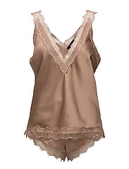 Saint Fé top & shorts - BRONZE