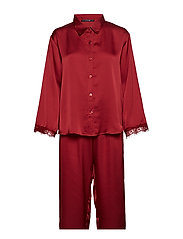 Smilla pyjamas - DARK RED