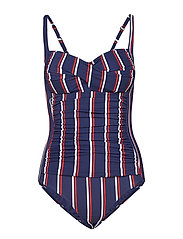 Corsika swimsuit - STRIPES