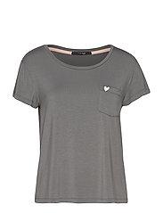 Softness t-shirt - STEEL GREY