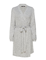 Cozy robe - LIGHT GREY MELANGE