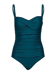 Argentina swimsuit - DARK GREEN