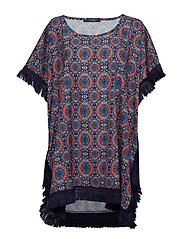 Goa poncho - INDIAN PRINT