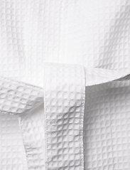 Missya - Honeycomb robe cotton - pegnoirs - white - 4