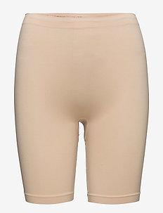 Lucia long shorts - culottes midi & maxi - nude
