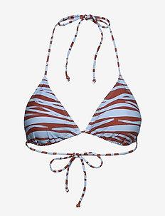 Bilbao triangle - bikinitops - chili oil