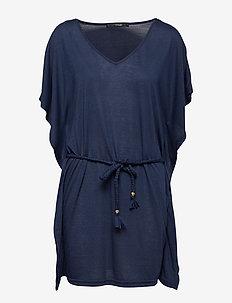 May beach dress - DARK BLUE
