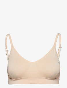 Lucia bra top solid - NUDE