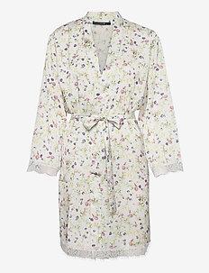 Smilla kimono AOP - nightdresses - ivory w print