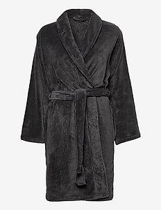 Cornflocker fleece robe long - pegnoirs - rhododendron